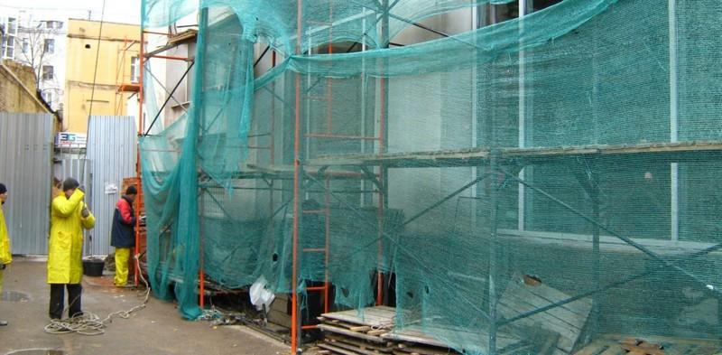 строительные защитные сетки
